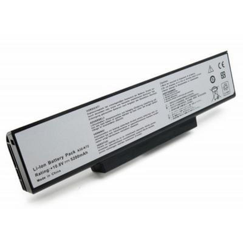 Аккумулятор для ноутбука Asus K72 (A32-K72) 10.8V 5200mAh Extr...