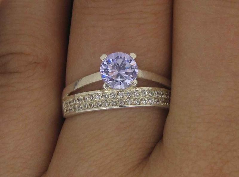 Кольцо серебро 925 проба 17,5 размер - Фото 2