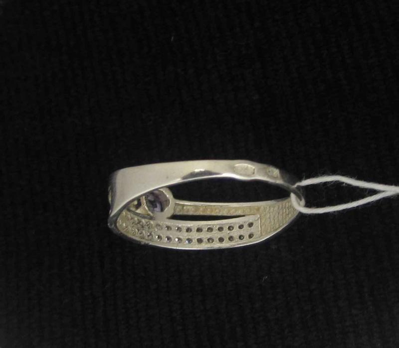 Кольцо серебро 925 проба 17,5 размер - Фото 4