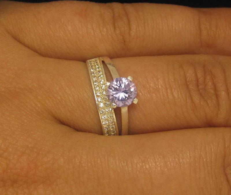 Кольцо серебро 925 проба 17,5 размер - Фото 5