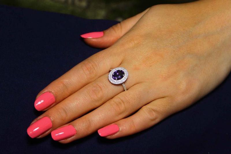 Кольцо серебро 925проба 17.5 размер