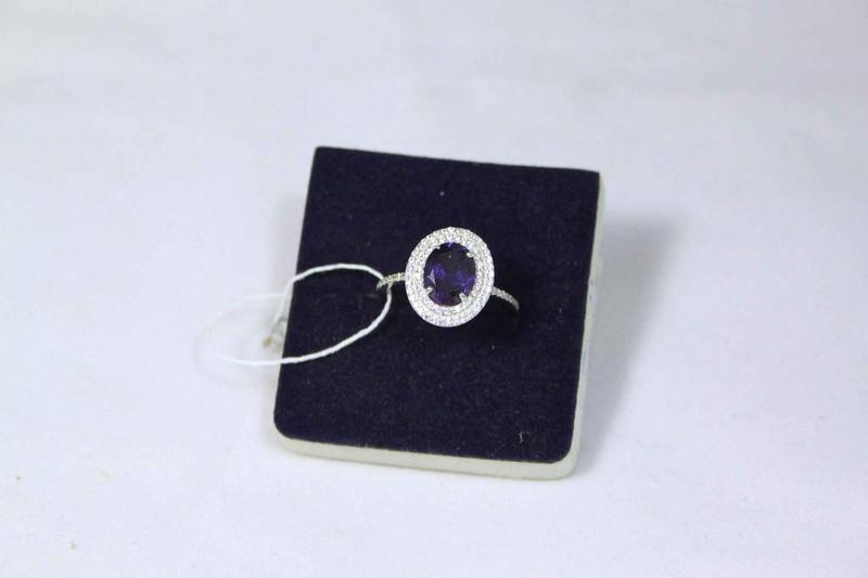 Кольцо серебро 925проба 17.5 размер - Фото 3