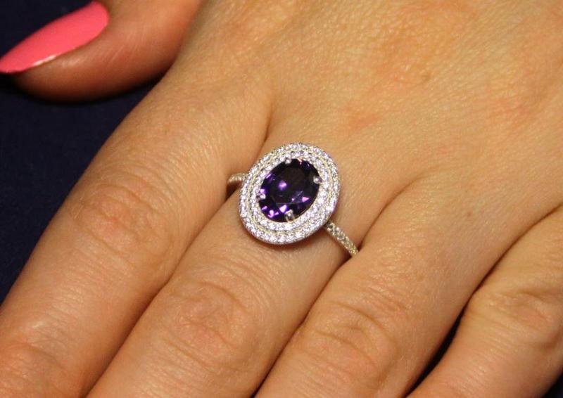 Кольцо серебро 925проба 17.5 размер - Фото 4