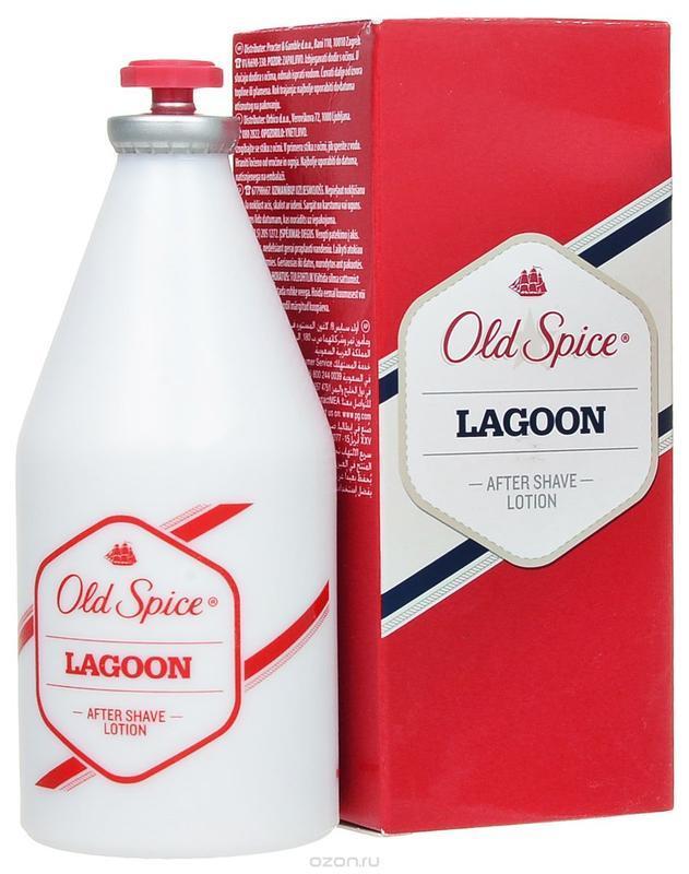 Лосьон после бритья old spice lagoon after shave,100