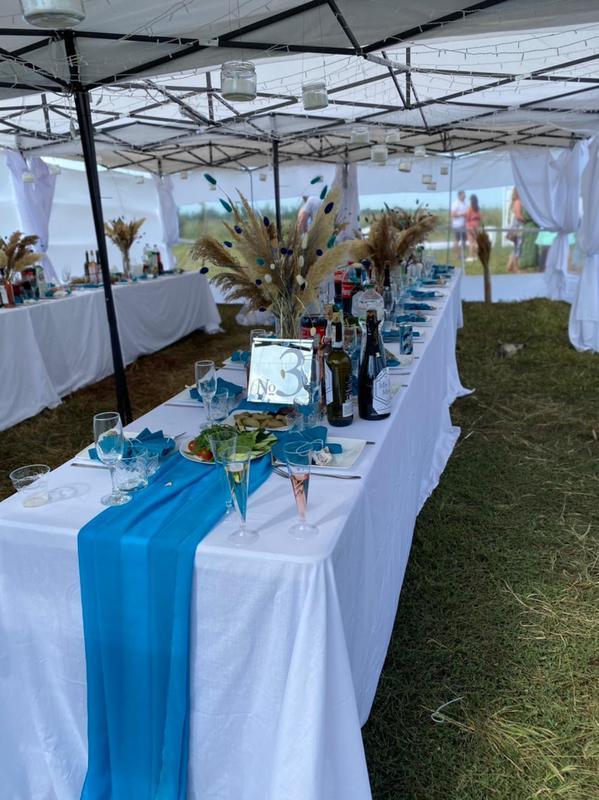 Аренда шатров, мебели для свадьбы, мероприятий + декор, установка