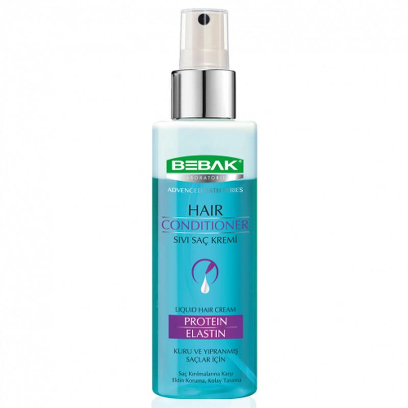 Двухфазный кондиционер для волос Протеин-Эластин. BEBAK