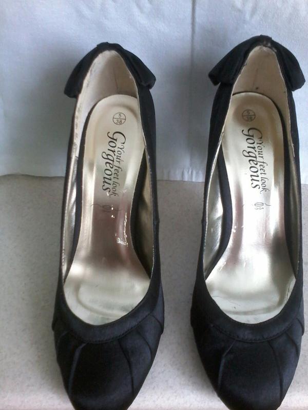 Атлассные туфли