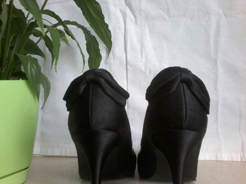 Атлассные туфли - Фото 3