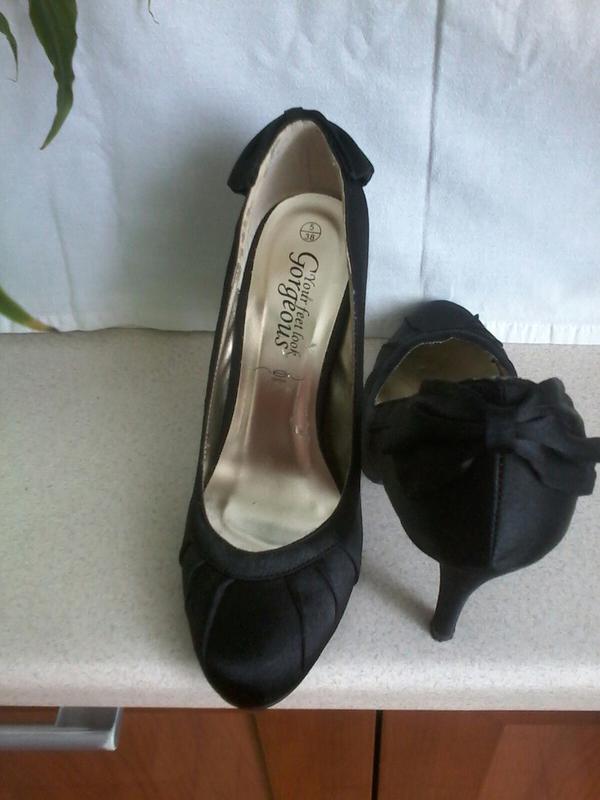 Атлассные туфли - Фото 5