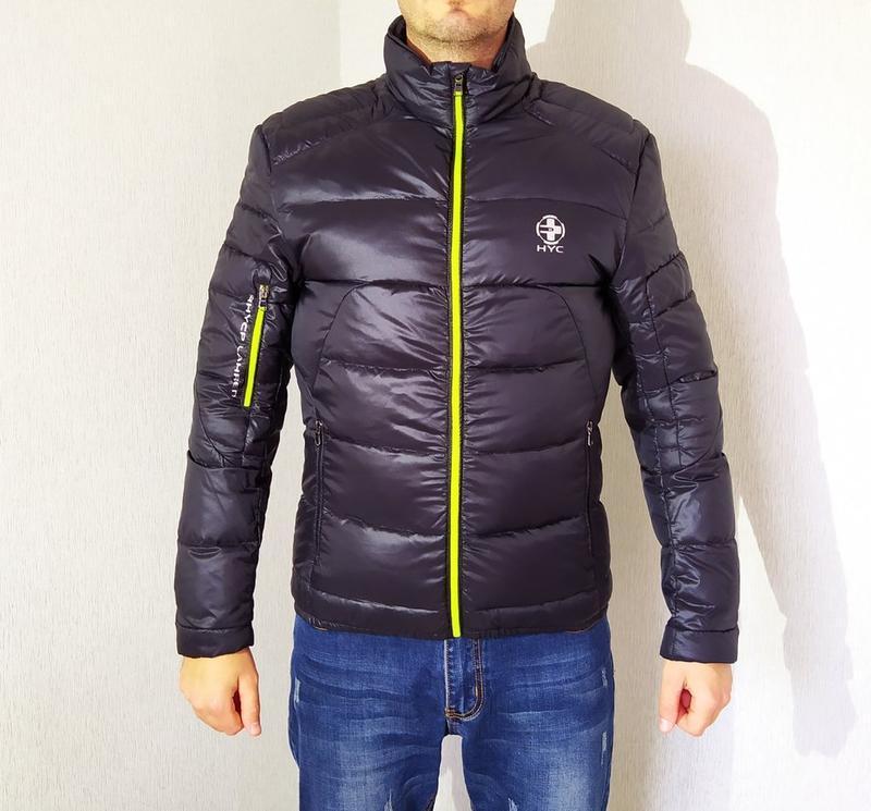 Мужская куртка в спортивном стиле. - Фото 5