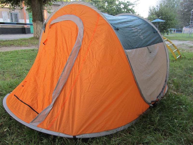 Палатка туристическая двухместная Bestway 235 x 145 x 100 см - Фото 4