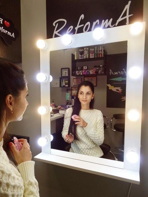Гримерное зеркало, макияжное milan