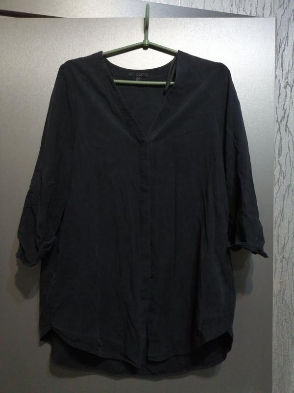 Шикарная рубашка из лиоцела