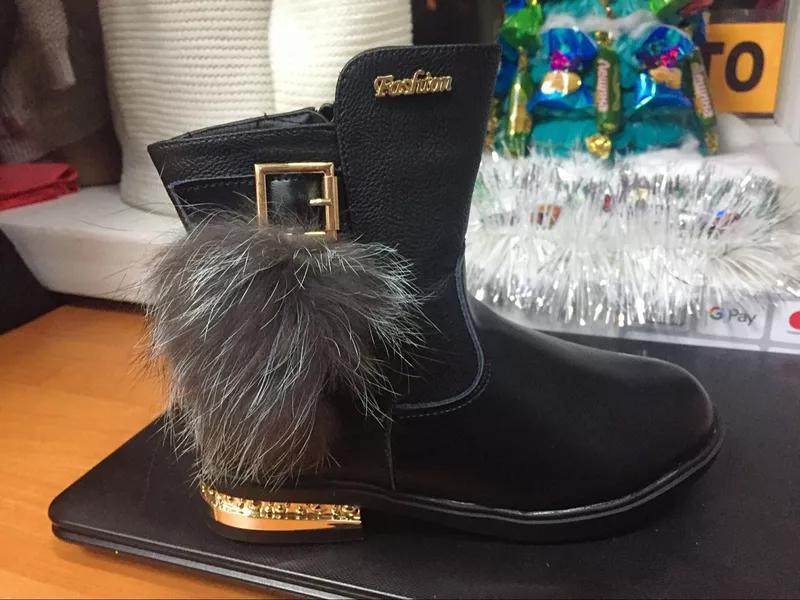 Детская обувь,33-37рр.,зимняя обувь