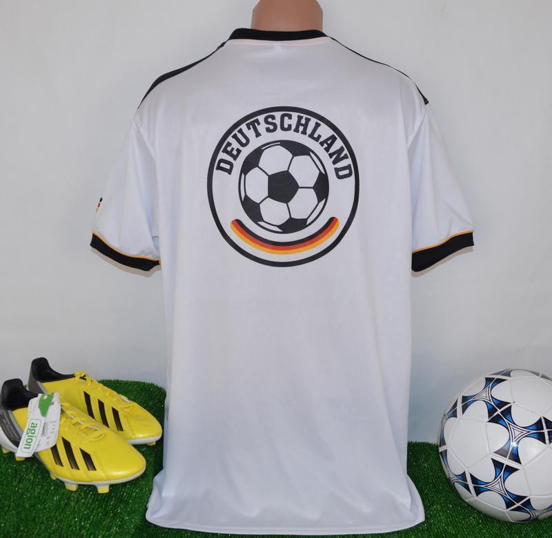 Брендовая футбольная спортивная футболка сборной германии deut... - Фото 2