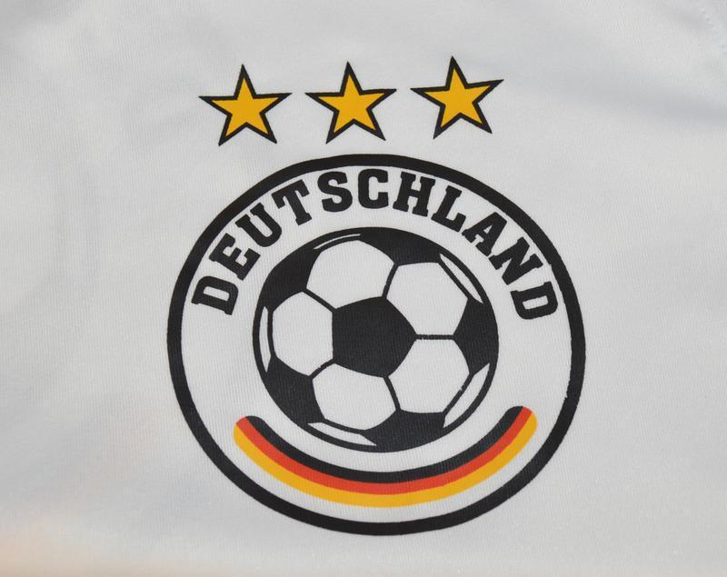 Брендовая футбольная спортивная футболка сборной германии deut... - Фото 3
