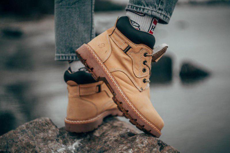 Ботинки south walker yellow (зима)