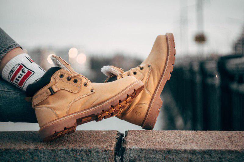Ботинки south walker yellow (зима) - Фото 2