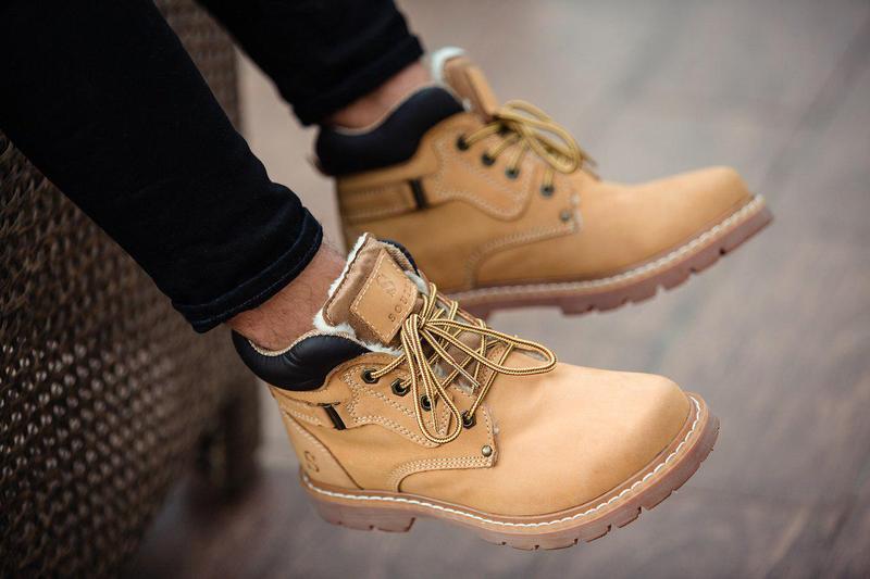 Ботинки south walker yellow (зима) - Фото 6