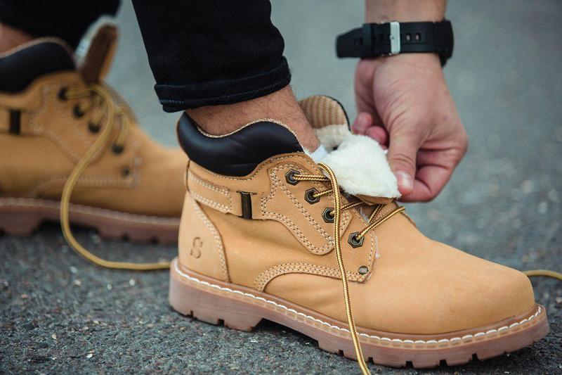 Ботинки south walker yellow (зима) - Фото 7
