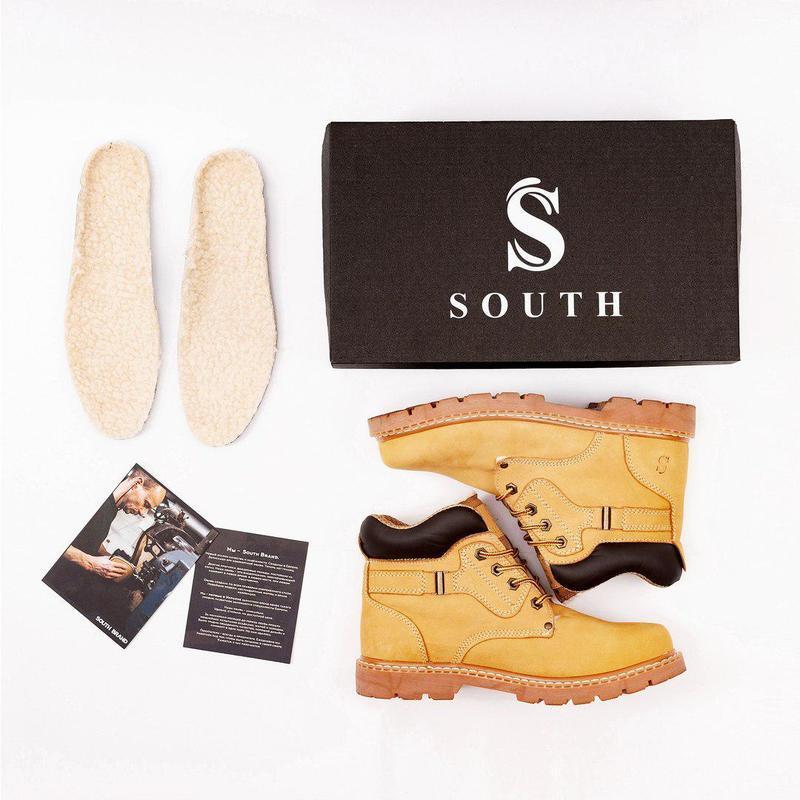Ботинки south walker yellow (зима) - Фото 9