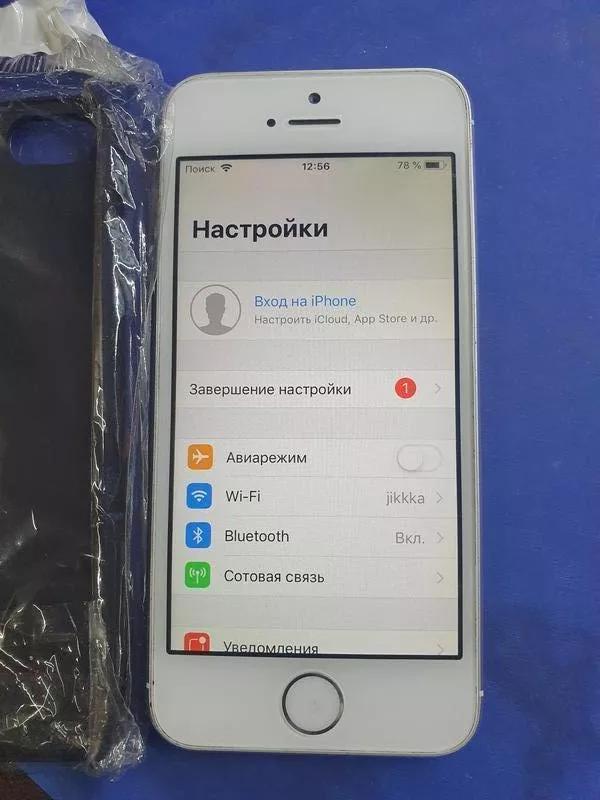 Apple iPhone 5S A1533 16ГБ LTE оригинал из США !ID (icloud )чист - Фото 3