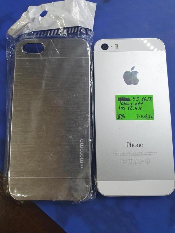 Apple iPhone 5S A1533 16ГБ LTE оригинал из США !ID (icloud )чист