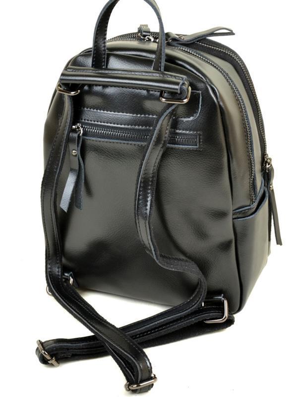 Сумка рюкзак женский кожа - Фото 2
