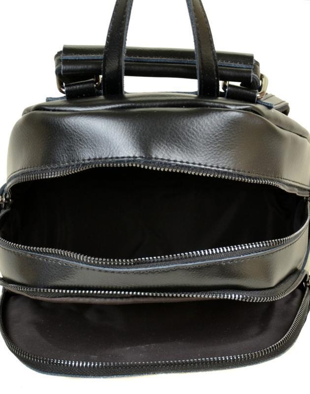 Сумка рюкзак женский кожа - Фото 3