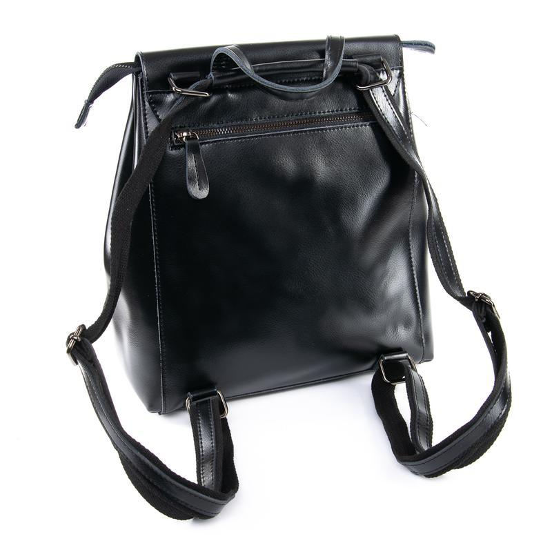 Рюкзак кожаный - Фото 3