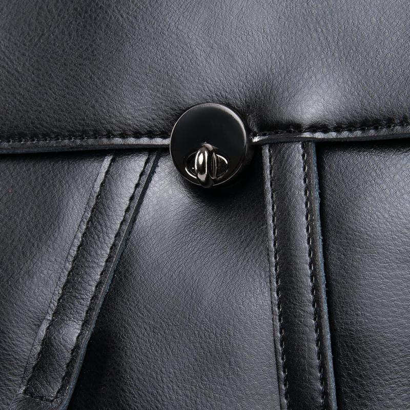 Рюкзак кожаный - Фото 4