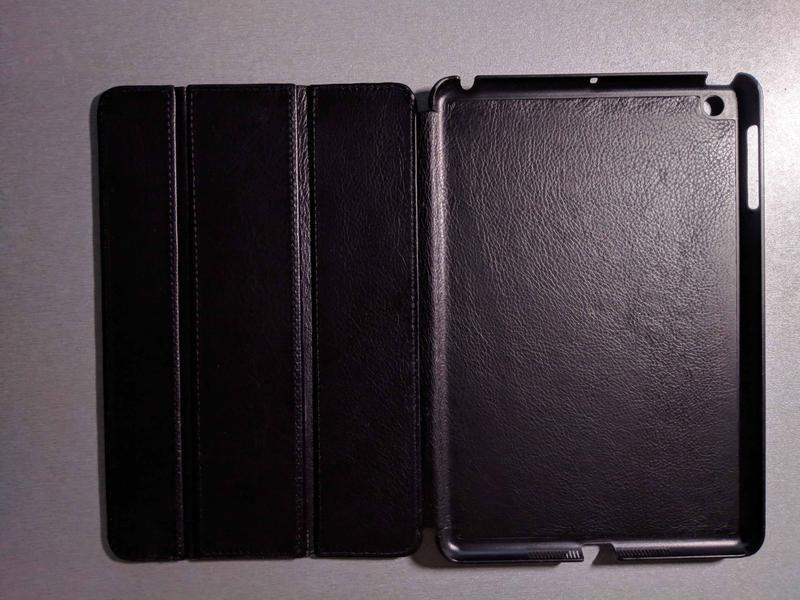 Фирменный чехол (натуральная кожа) Apple iPad mini 2. - Фото 3