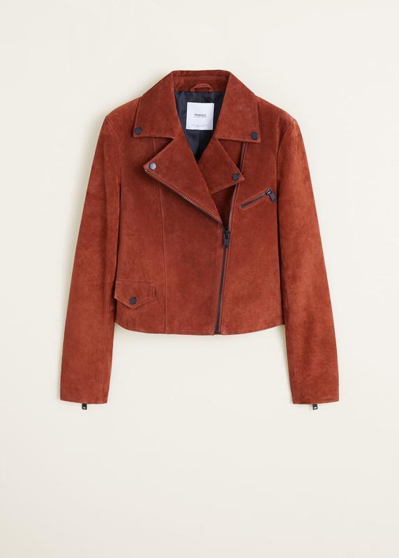 Качественная натуральная замшевая косуха куртка - Фото 7