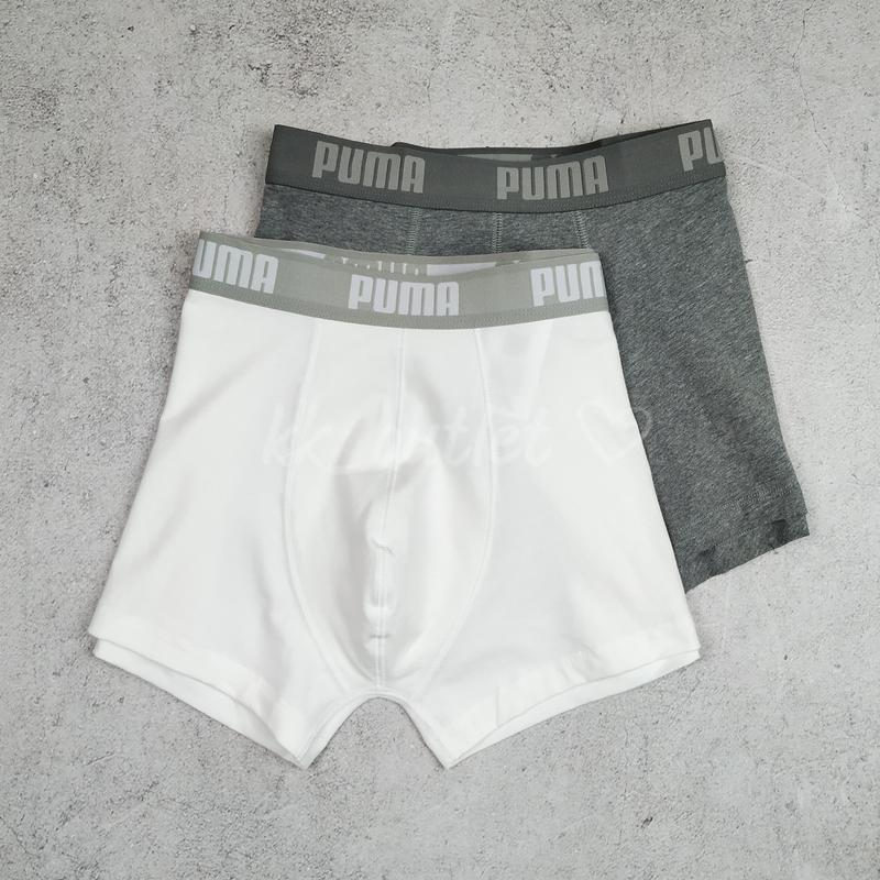 Оригинал набор 2 шт трусы боксеры boxers puma р-р s, m, xl - Фото 8