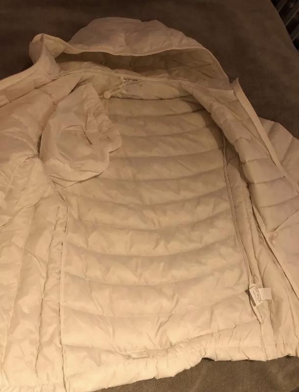 Стильный пуховик пуховичек куртка курточка на гусином пуху в с... - Фото 3