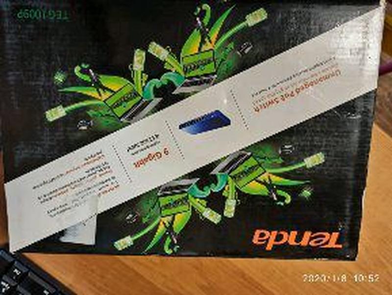 Коммутатор Tenda TEG1009P, POE, Gigabit, супер-цена - Фото 5