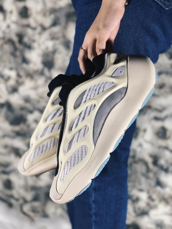 Мужские кроссовки adidas yeezy boost 700 v3 azael - Фото 5