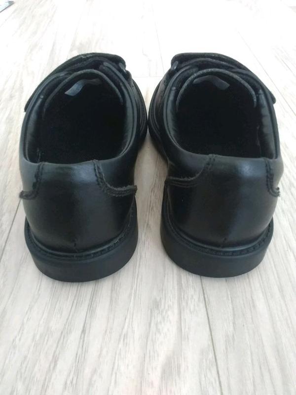 Туфли классические CLarks для мальчика (кожа), черные, 32,5 разме - Фото 6
