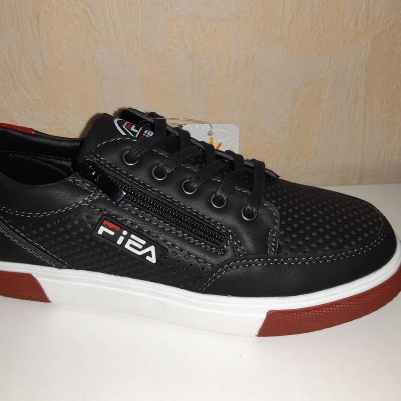 Летние кроссовки на мальчика 32-37р bessky, чёрные