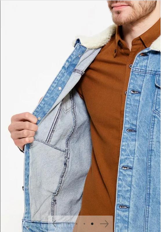 Куртка джинсовая - Фото 3