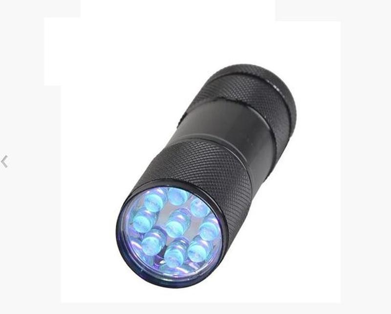Ультрафиолетовый фонарик LED фонарик Светодиодный УФ фонарь 38...