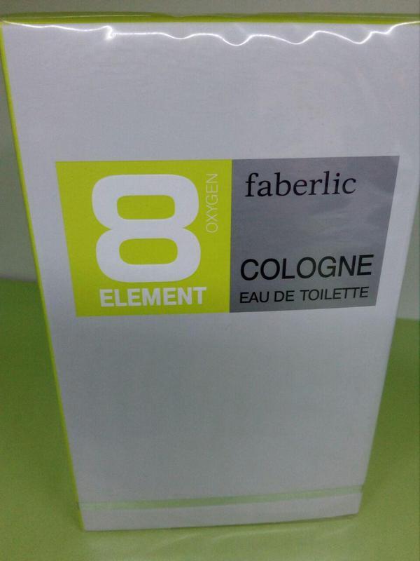 Туалетная вода мужская 8 Element Cologne Элемент Фаберлик - Фото 7