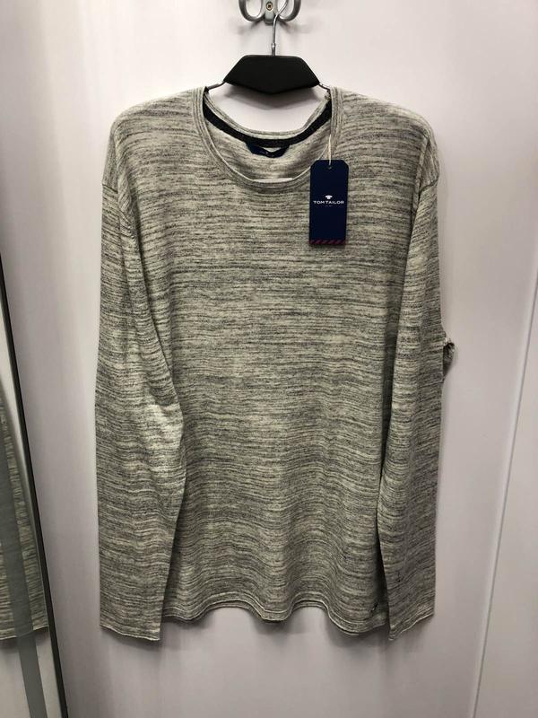 Хлопковый свитер, кофта немецкого бренда tom tailor (2007)