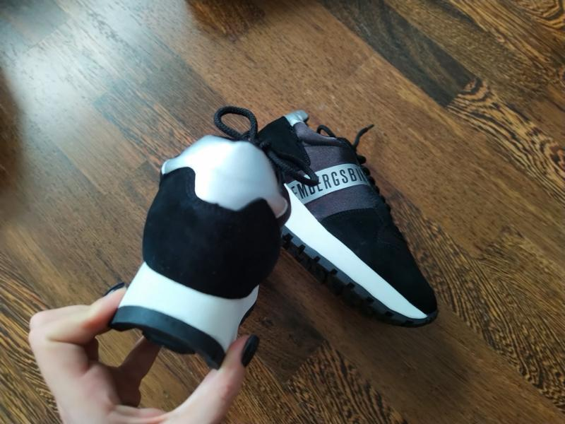 Новые кроссовки на платформе bikkembergs замша+текстиль - Фото 7