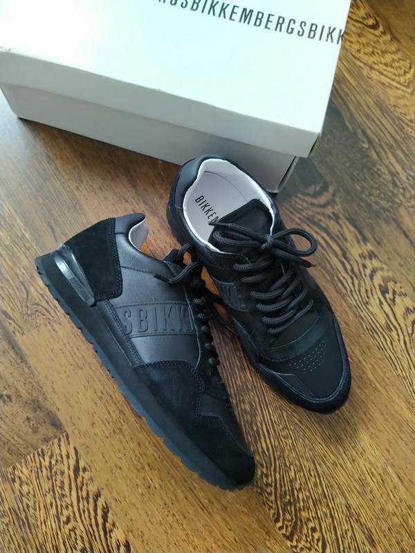 Новые кожаные кроссовки bikkembergs  bikk - Фото 2