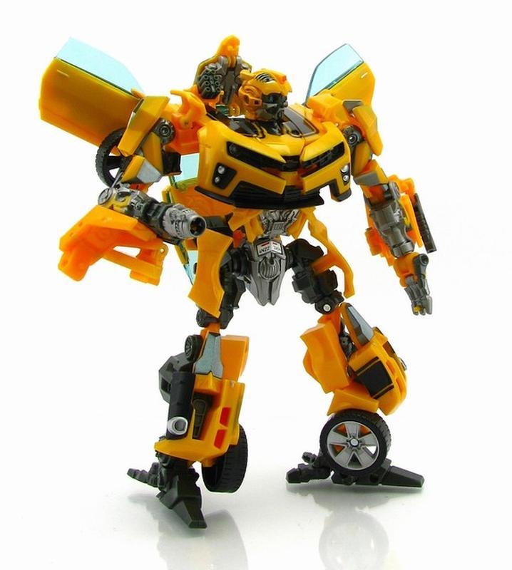 Трансформер Бамблби и Сэм Уитвики - Bumblebee&Sam Witwicky, TF2, - Фото 2