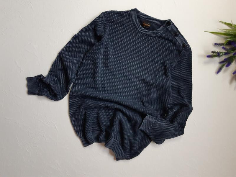 Винтаж, мужской коттоновый пуловер