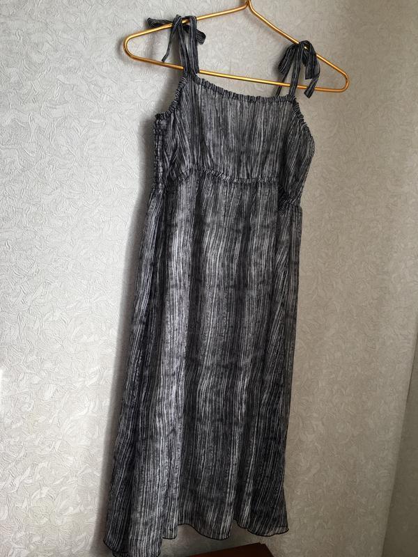 Красивый летний, шифоновый сарафан, платье