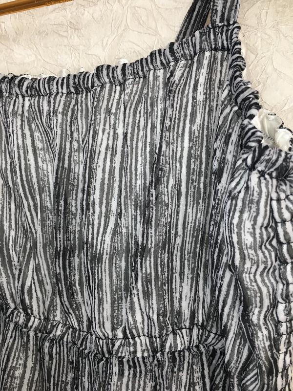 Красивый летний, шифоновый сарафан, платье - Фото 5