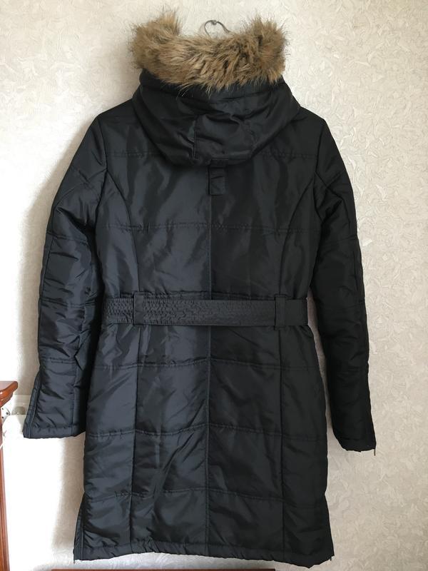 Красивая, демисезонная  удлинённая  куртка. германия north route - Фото 2